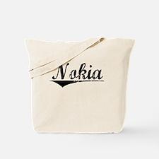 Nokia, Aged, Tote Bag
