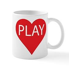 I Love to Play Mug