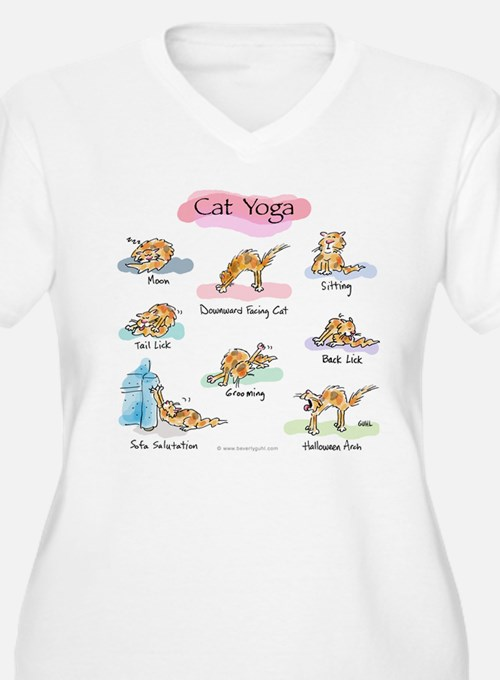 Cat YOGA POSES T-Shirt