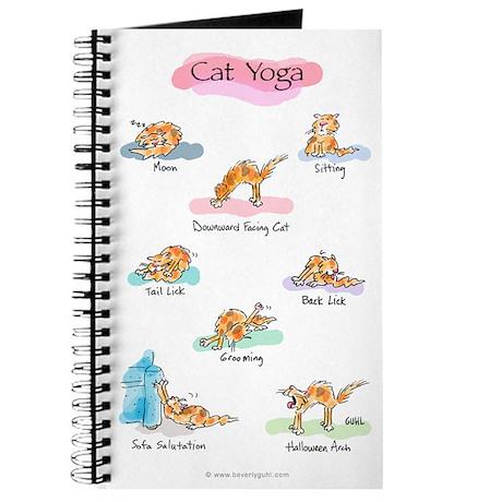 Cat YOGA POSES Journal