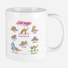 Cat YOGA POSES Mug