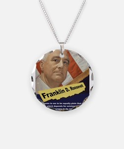 It Seems To Me - FDR Necklace