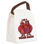 Wombie Momma's Canvas Lunch Bag