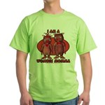 Wombie Momma's Green T-Shirt