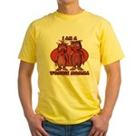Wombie Momma's Yellow T-Shirt