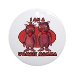 Wombie Momma's Ornament (Round)