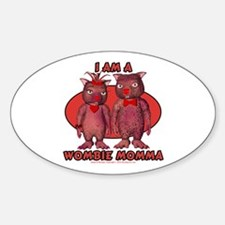 Wombie Momma's Decal