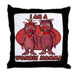 Wombie Momma's Throw Pillow