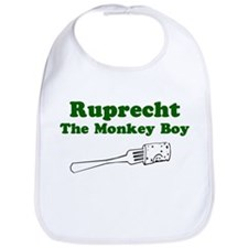 Ruprecht The Monkey Boy Bib