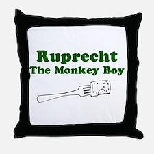 Ruprecht The Monkey Boy Throw Pillow