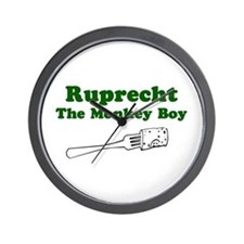 Ruprecht The Monkey Boy Wall Clock