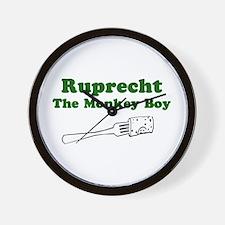 Ruprecht The Monkey Boy Wall Clock