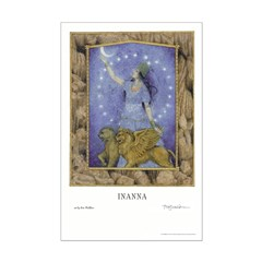Bestselling: Inanna art poster