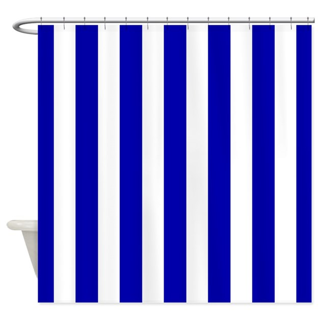 navy_blue_and_white_sailor_stripes_shower_curtain.jpg?color=White ...