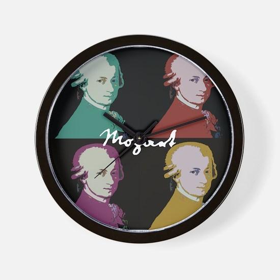 Mozart Portrait Wall Clock
