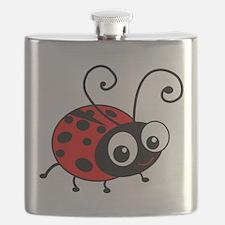 Cute Ladybug Flask