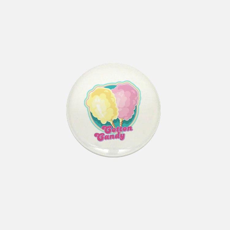 Cotton Candy Mini Button