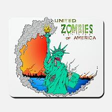 Zombies of America Mousepad
