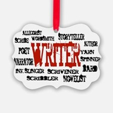 They call me Writer Ornament