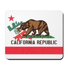 New California Flag Mousepad
