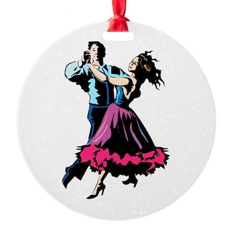 Tango! #2 Round Ornament