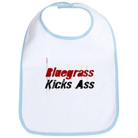 Bluegrass Kicks Ass Bib