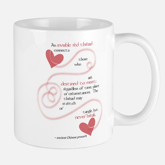 Invisible Red Thread Mug