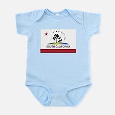 Flag of South California Infant Bodysuit