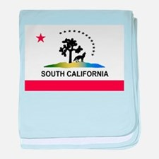 Flag of South California baby blanket