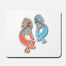 Pastel Kokopelli Design Mousepad