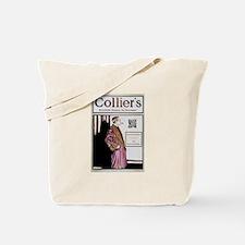 Sherlock Holmes QR Magazine Tote Bag