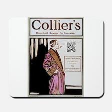 Sherlock Holmes QR Magazine Mousepad
