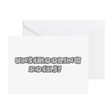 Unschooling Rocks! Greeting Cards (Pk of 10)