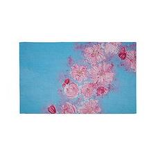 Cherry Blossoms 3'x5' Area Rug