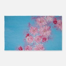 Cherry Blossoms 3'x5' Area Rug