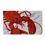 Lobster 3'x5' Area Rug