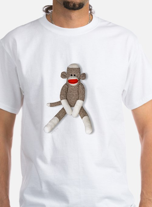 Sock Monkey Sitting Shirt