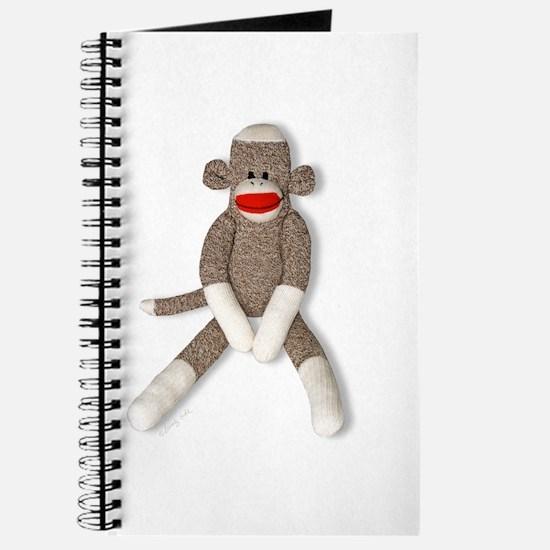 Sock Monkey Sitting Journal