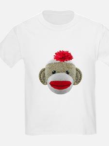 Sock Monkey Face T-Shirt