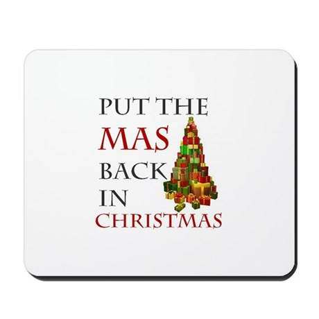 Mas Christmas Mousepad