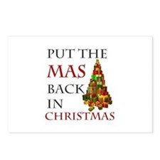 Mas Christmas Postcards (Package of 8)