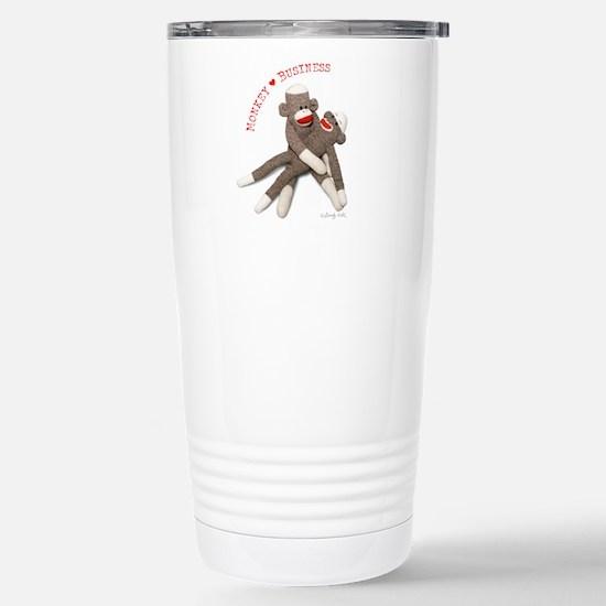 Monkey Business - Stainless Steel Travel Mug