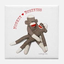 Monkey Business - Tile Coaster