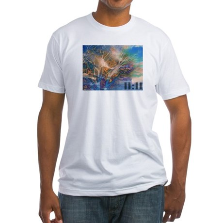Rose Mary 11:11 Fitted T-Shirt