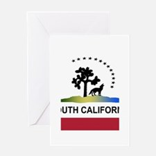 Flag of South California Greeting Card