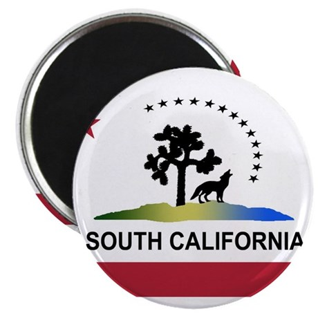 """Flag of South California 2.25"""" Magnet (100 pack)"""