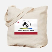 Flag of South California Tote Bag