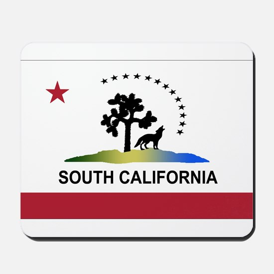 Flag of South California Mousepad