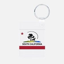 Flag of South California Keychains