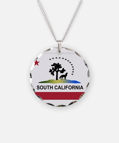 Flag of South California Necklace
